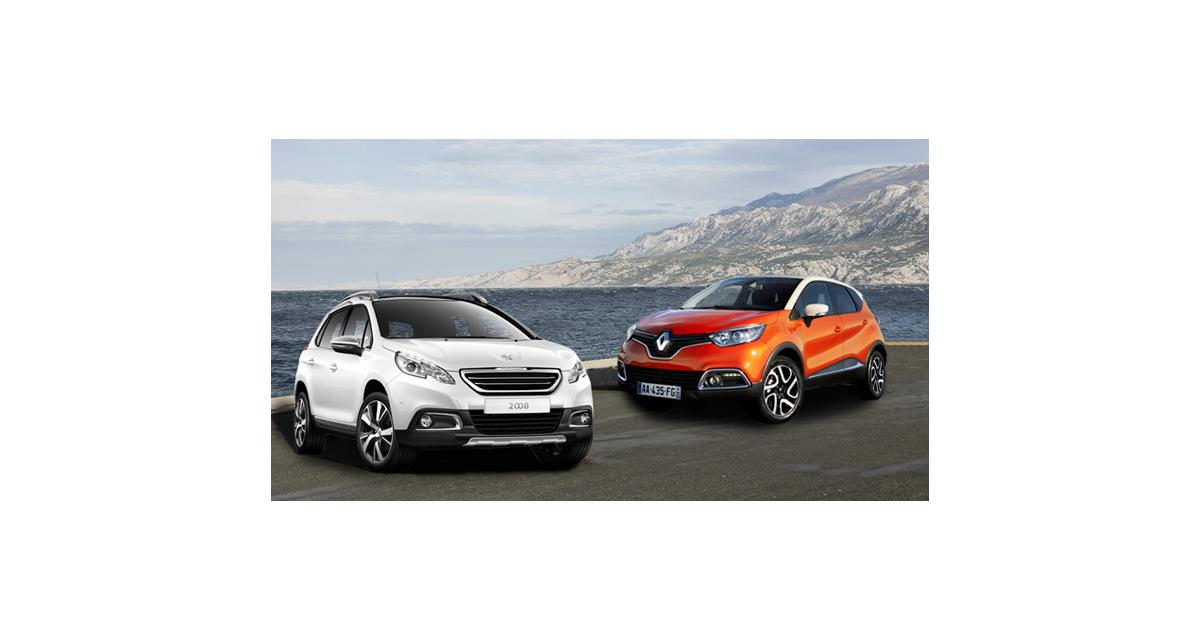 Comparatif : 2008 face à Captur, duel de crossovers urbains