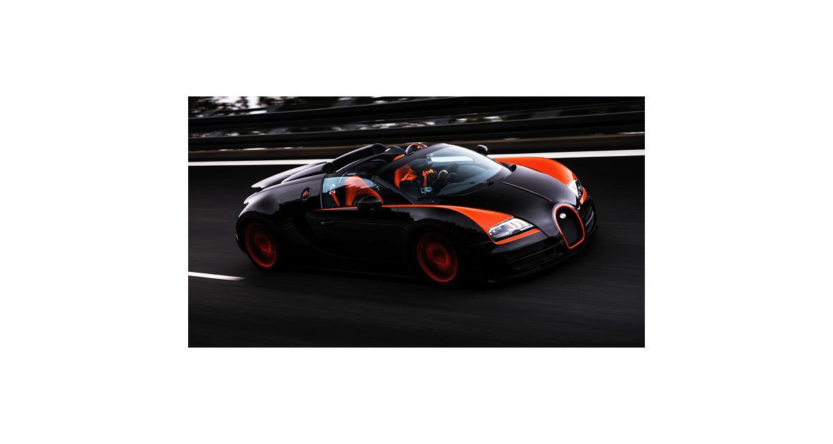 Bugatti Veyron Grand Sport Vitesse : 409 km/h pour le cabriolet le plus rapide du monde