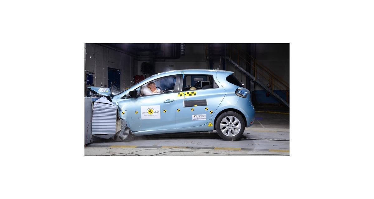 Nouvelle Renault ZOE : une citadine électrique 5 étoiles