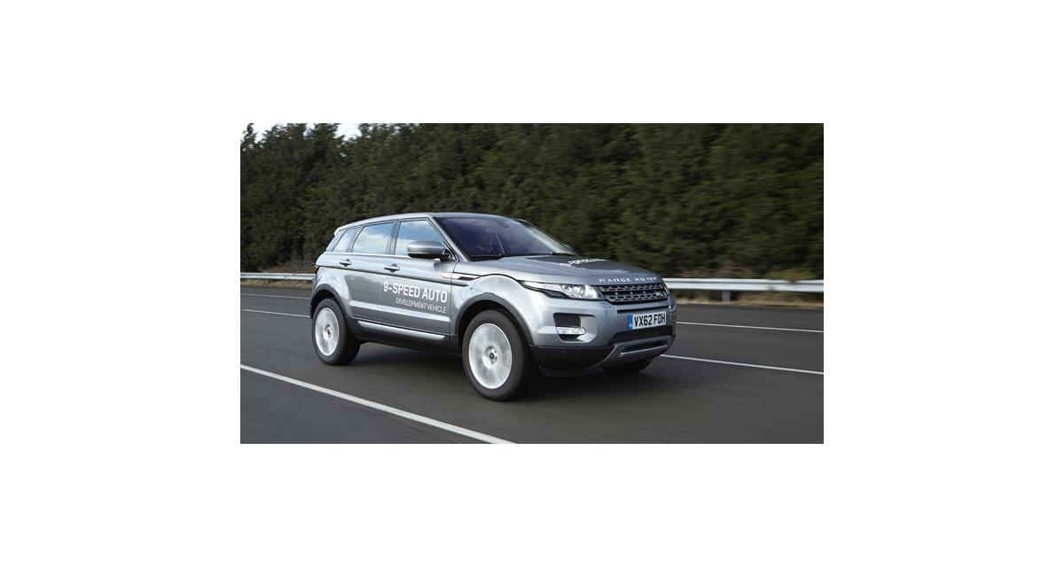 Land Rover : une boîte automatique à 9 rapports
