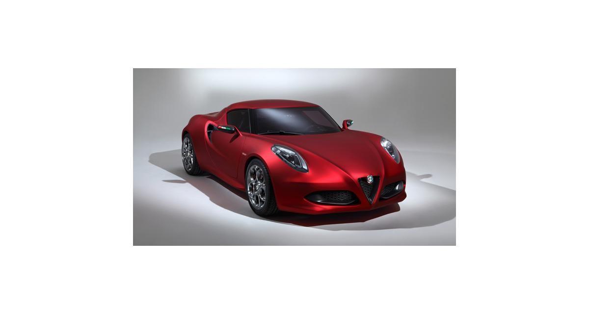 Alfa Romeo 4C : un coupé, un roadster et une version stradale