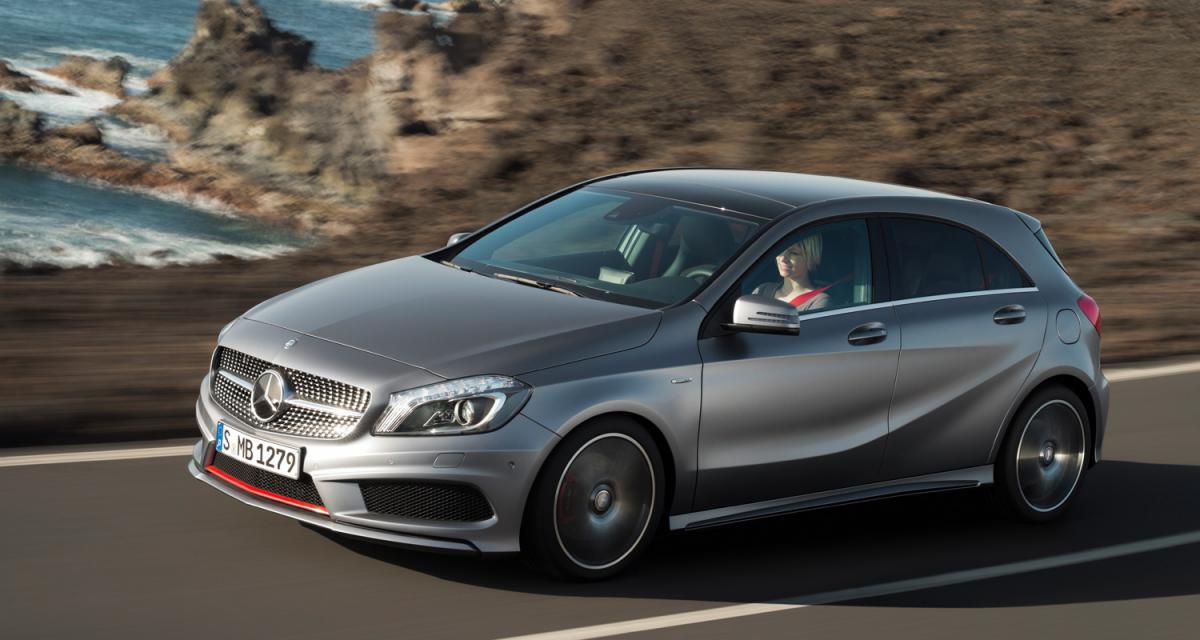 La nouvelle Mercedes Classe A sacrée plus belle voiture de l'année