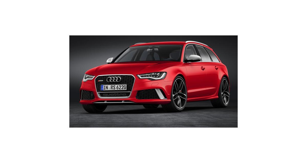 Audi : une RS6 Avant plus de 600 ch dans les cartons