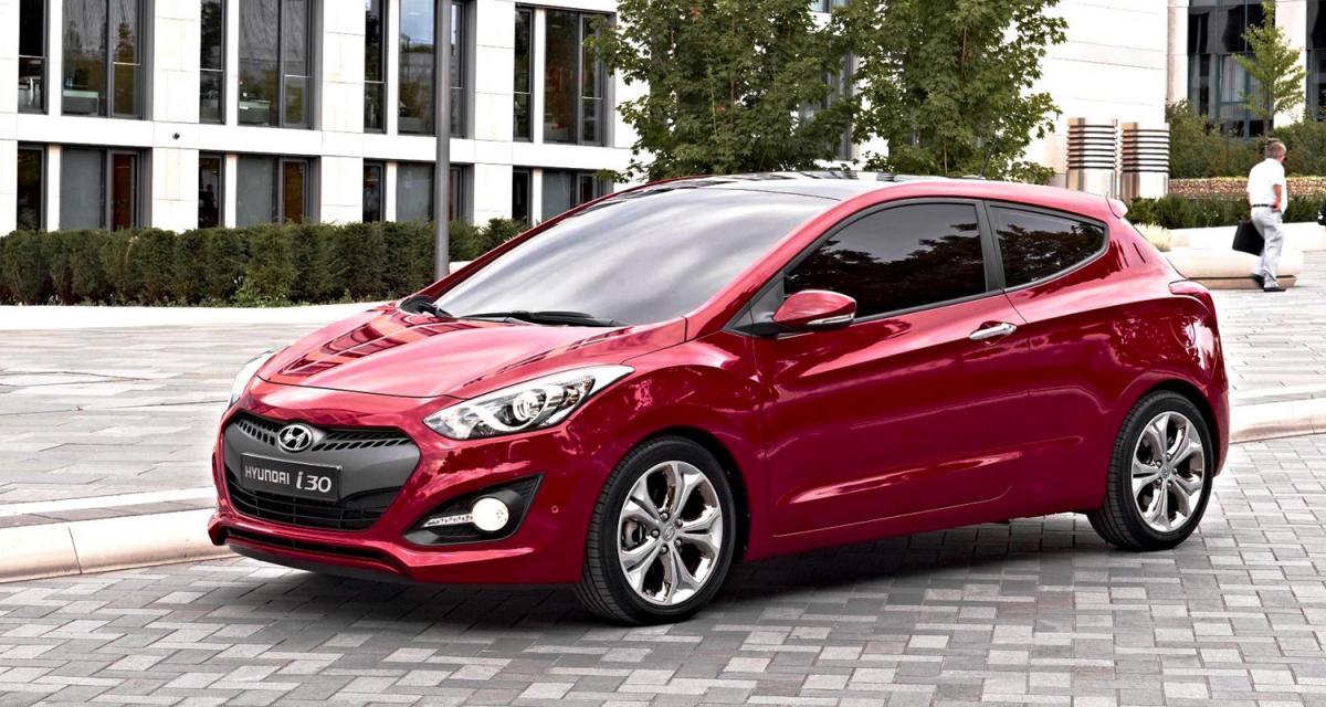 La nouvelle Hyundai i30 3 portes dévoile tous ses prix