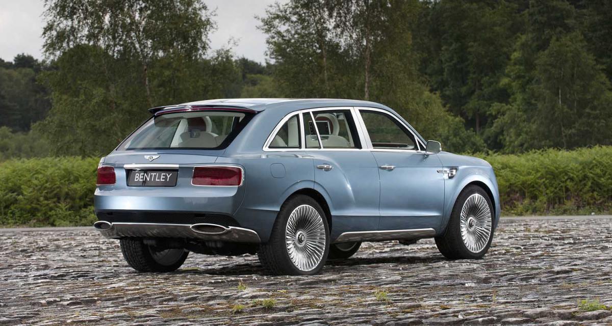 Bentley : bientôt le feu vert pour le SUV