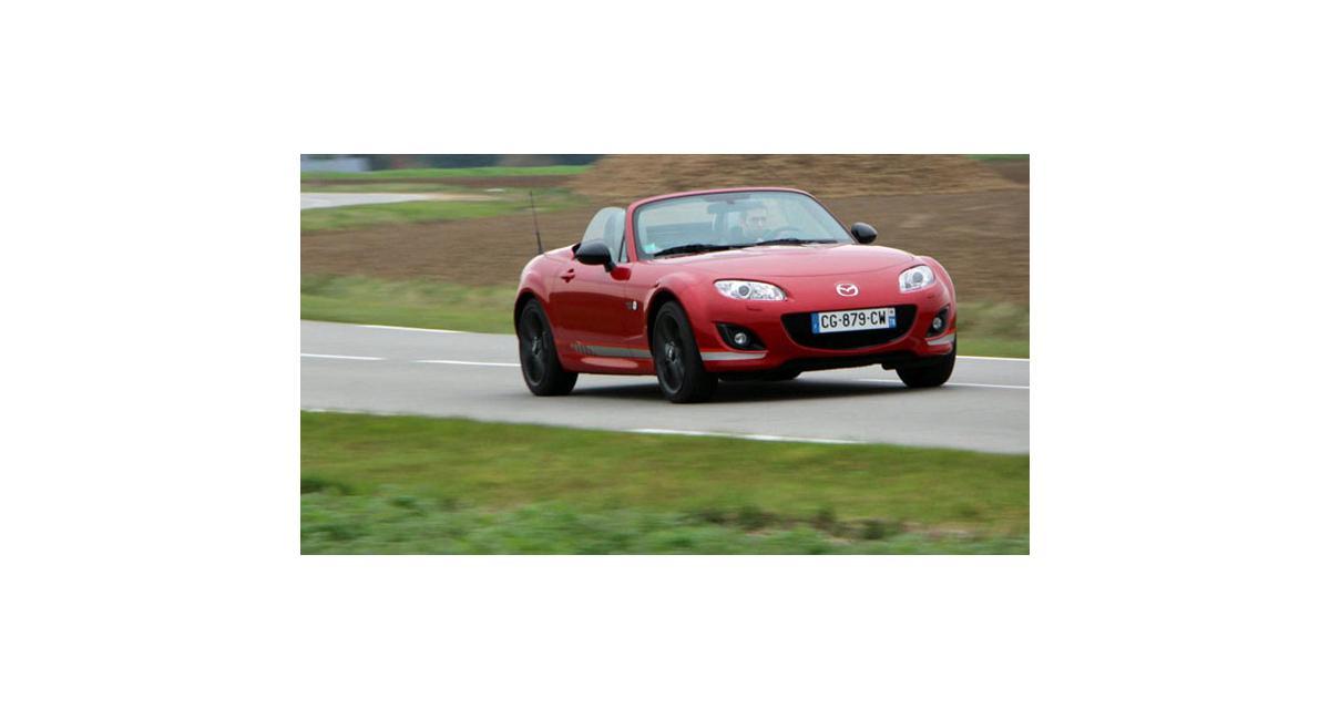 Mazda MX-5-Alfa Romeo Spider : c'est signé