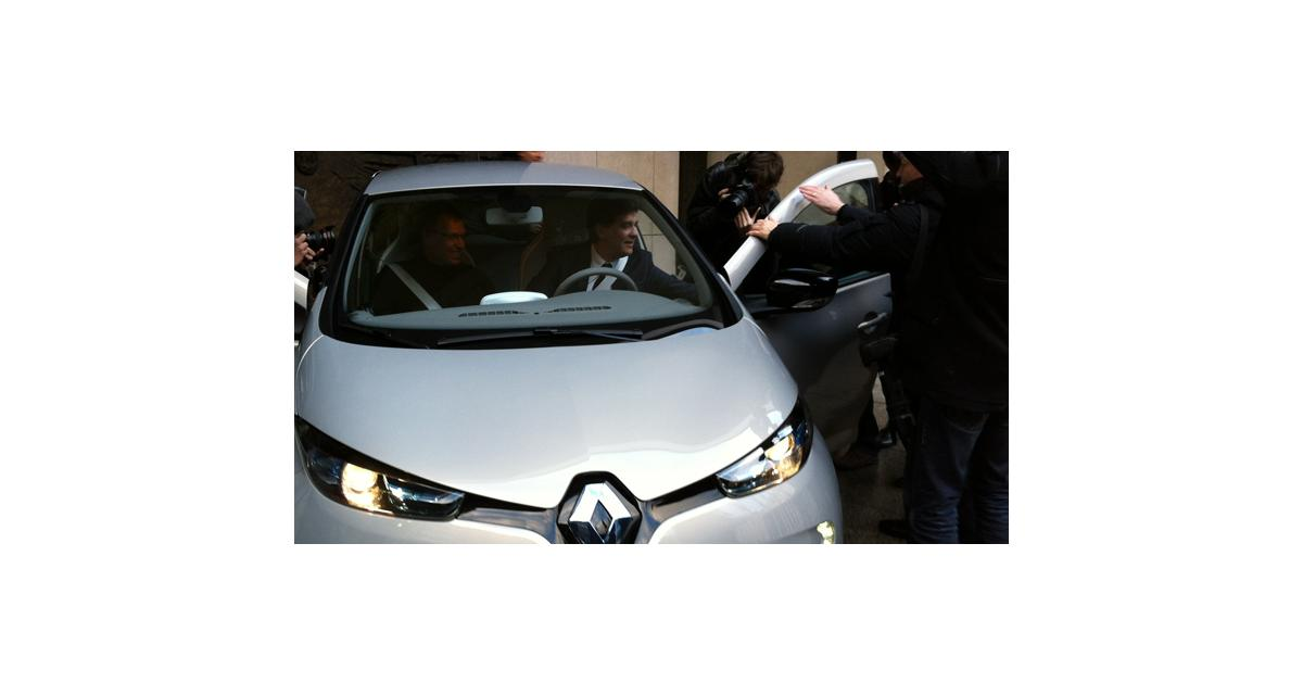 Renault : Montebourg optimiste