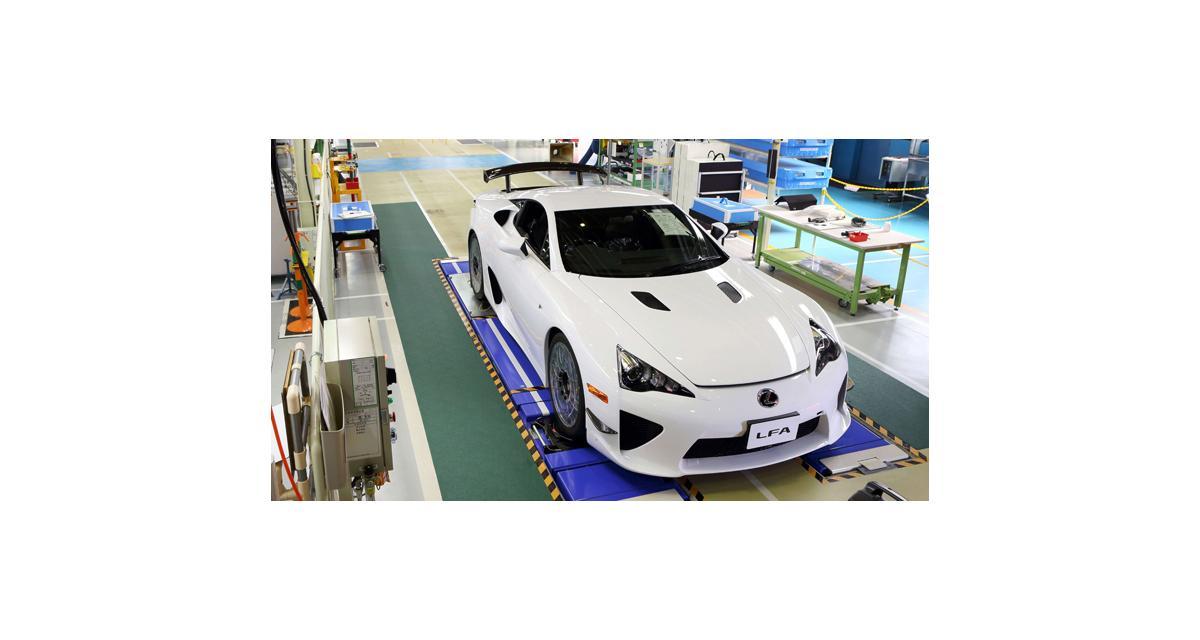 Lexus LFA : clap de fin