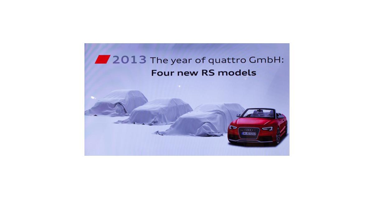 Audi : la RS7 et le Q3 RS dans les starting-blocks