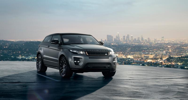 Range Rover Evoque : la voiture féminine de l'année