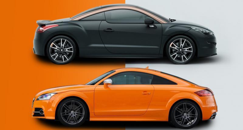 Peugeot RCZ R contre Audi TTS : la revanche du Lion ?
