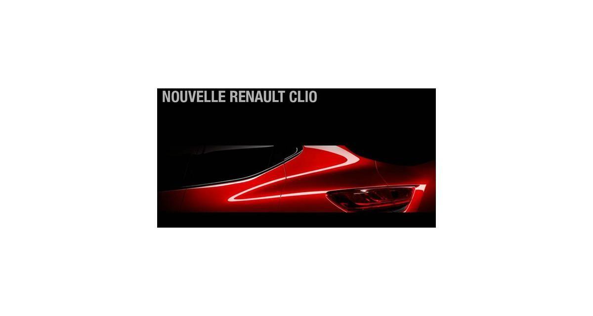Renault Clio 4 : rendez-vous le 3 juillet à 15h00