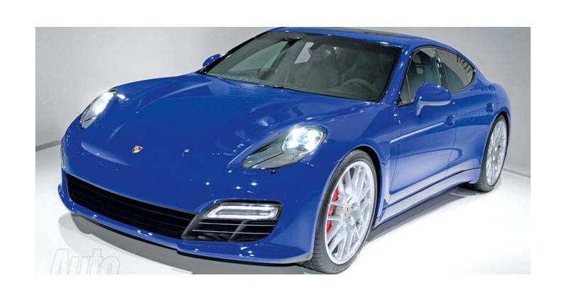 Porsche Pajun : une petite soeur pour la Panamera