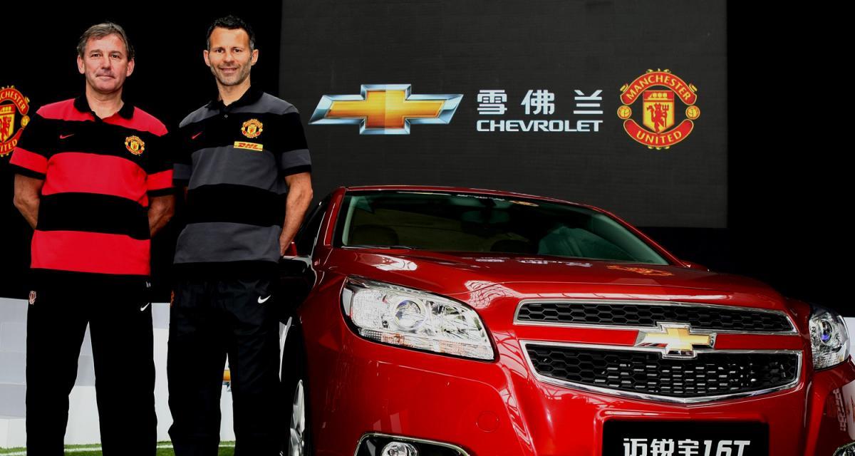 Chevrolet nouveau sponsor de Manchester United