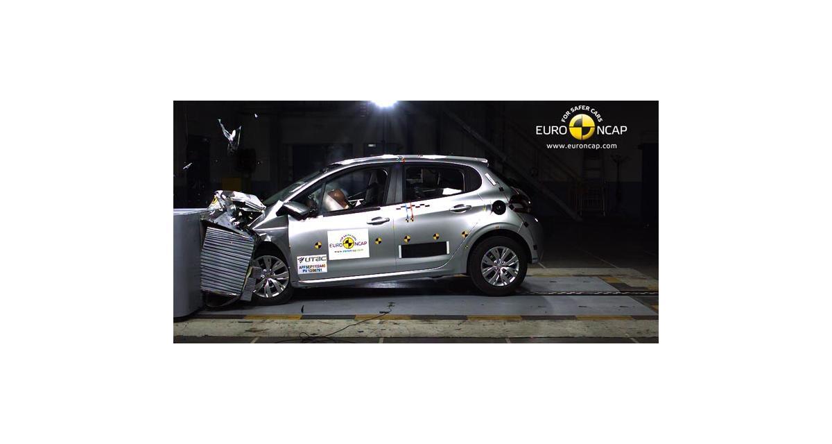 Euro NCAP : la Peugeot 208 décroche ses cinq étoiles