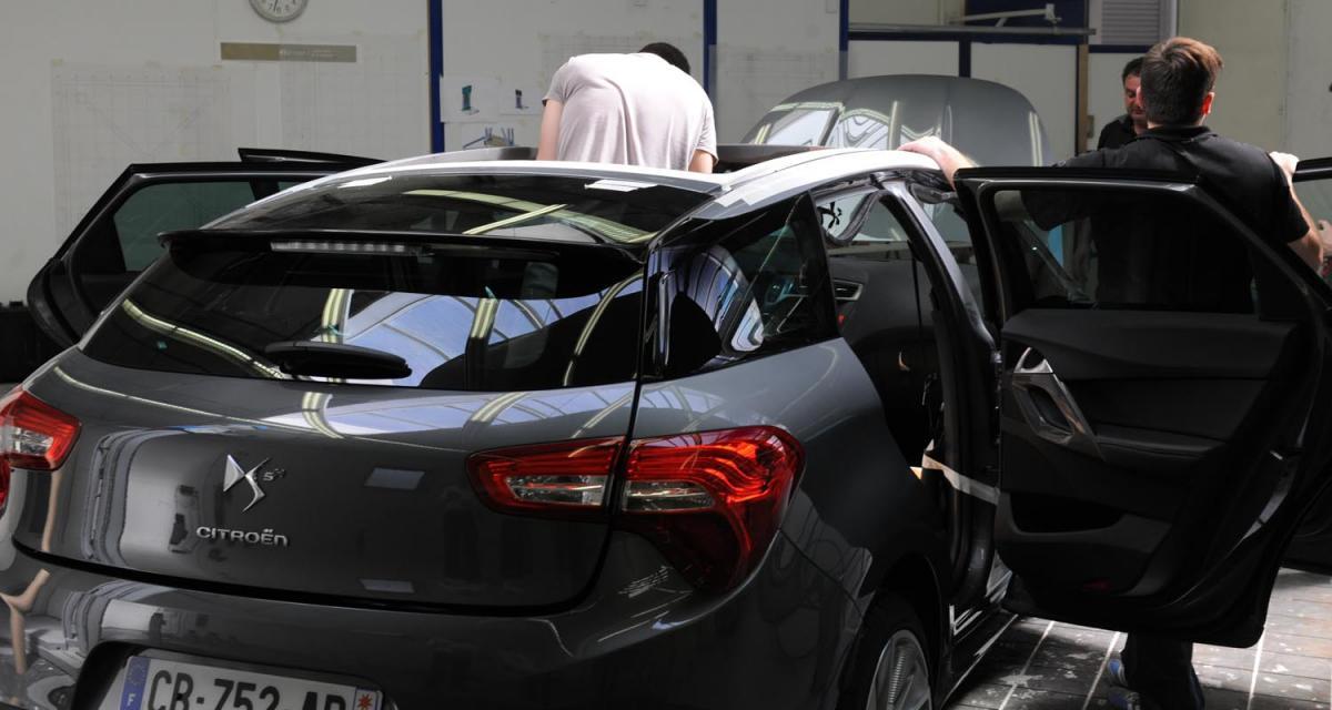 La Citroën DS5 enlève le haut pour François Hollande