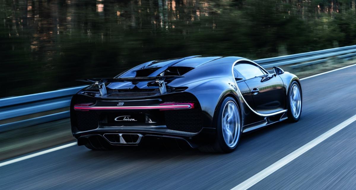 Bugatti Chiron : un premier exemplaire débarque à Monaco (vidéo)