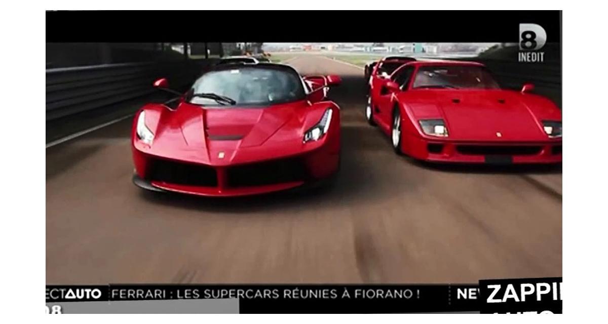 Zapping de la semaine : carton à Monaco, supercars Ferrari et tonneaux à 300