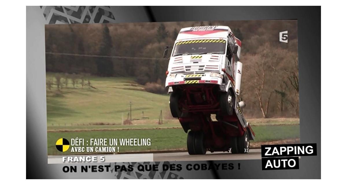 Zapping de la semaine : wheeling en camion et premiers ministres