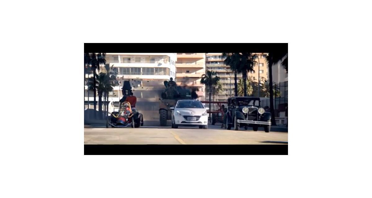 Peugeot 208 : Satanas et Diabolo, Pénélope Joli-Coeur et tous les Fous du Volant s'invitent dans la pub brésilienne