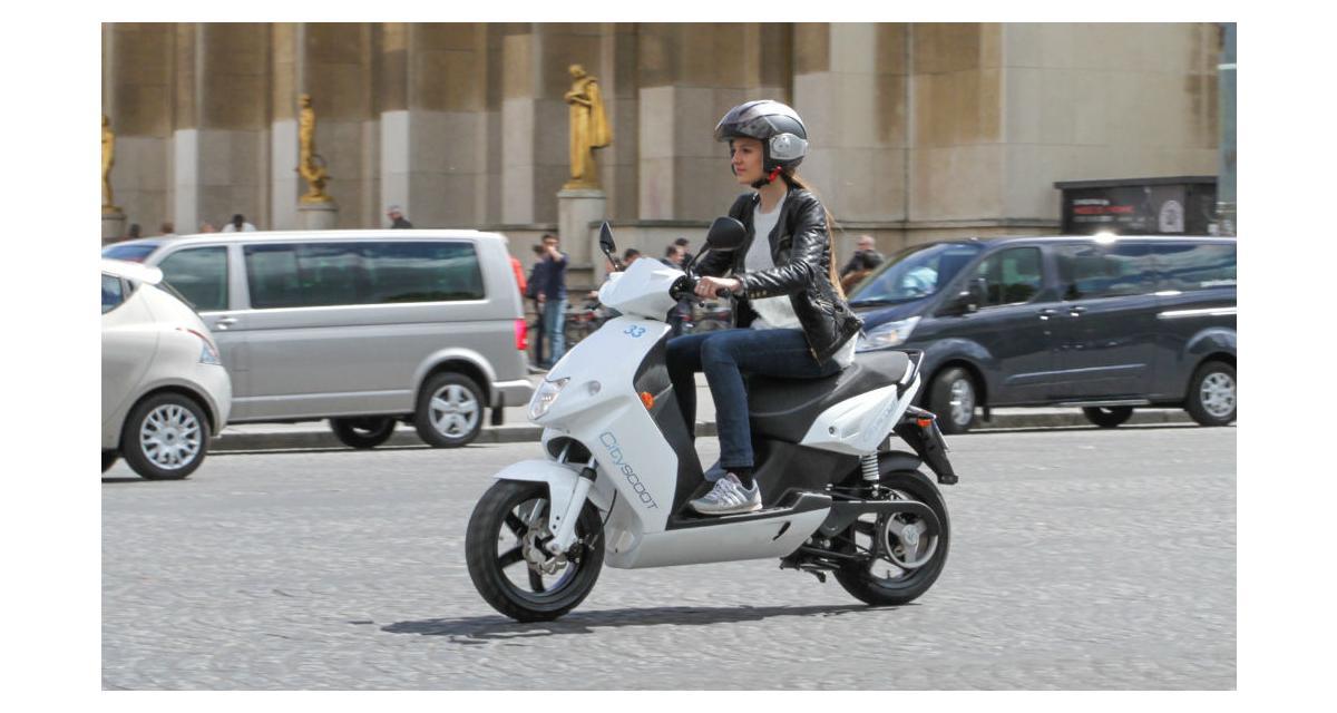 Cityscoot : le scooter électrique en libre-service