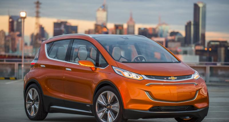 Chevrolet Bolt EV Concept : en éclaireur