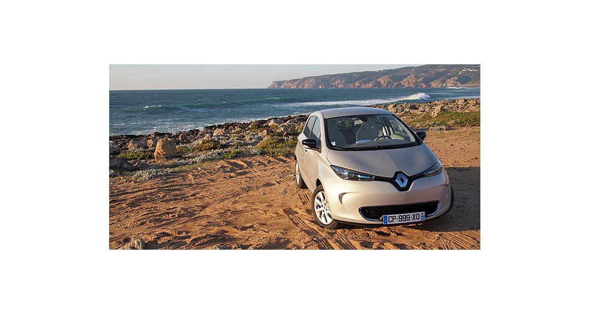 Renault : la Zoe reçoit enfin le câble