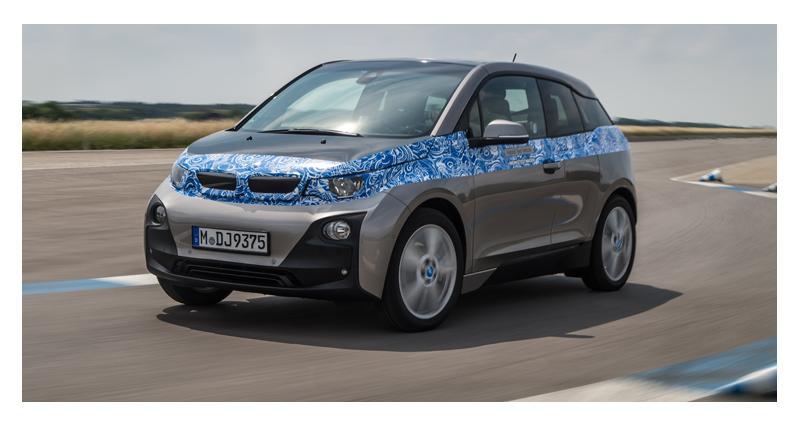 BMW i3 : l'électrique bavaroise a un prix