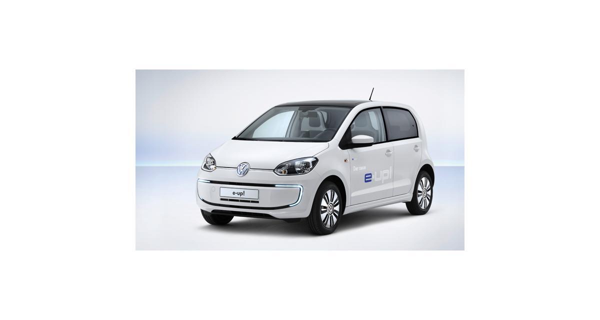 Volkswagen up! électrique : à partir de 26 900 euros en Allemagne