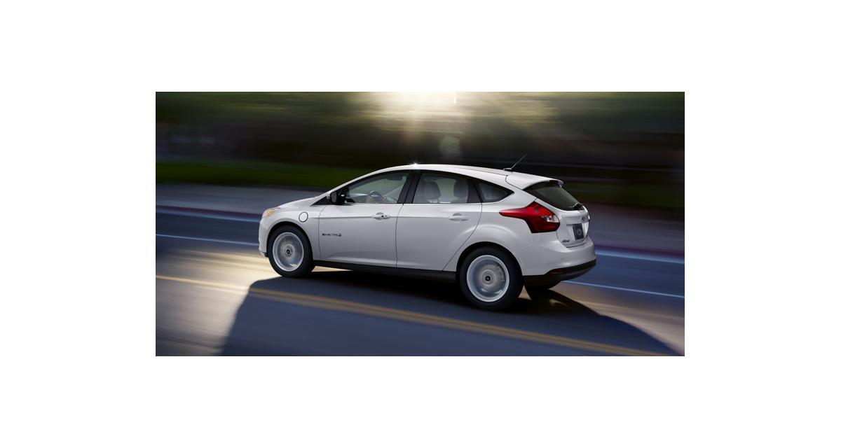 Ford Focus Electric : début de la production en Europe