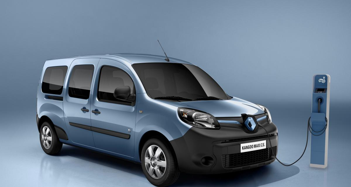 les prix des renault kangoo z e et maxi z e 2013. Black Bedroom Furniture Sets. Home Design Ideas