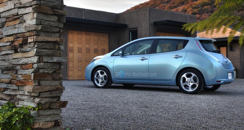 Nissan : 50 000 Leaf sur les routes