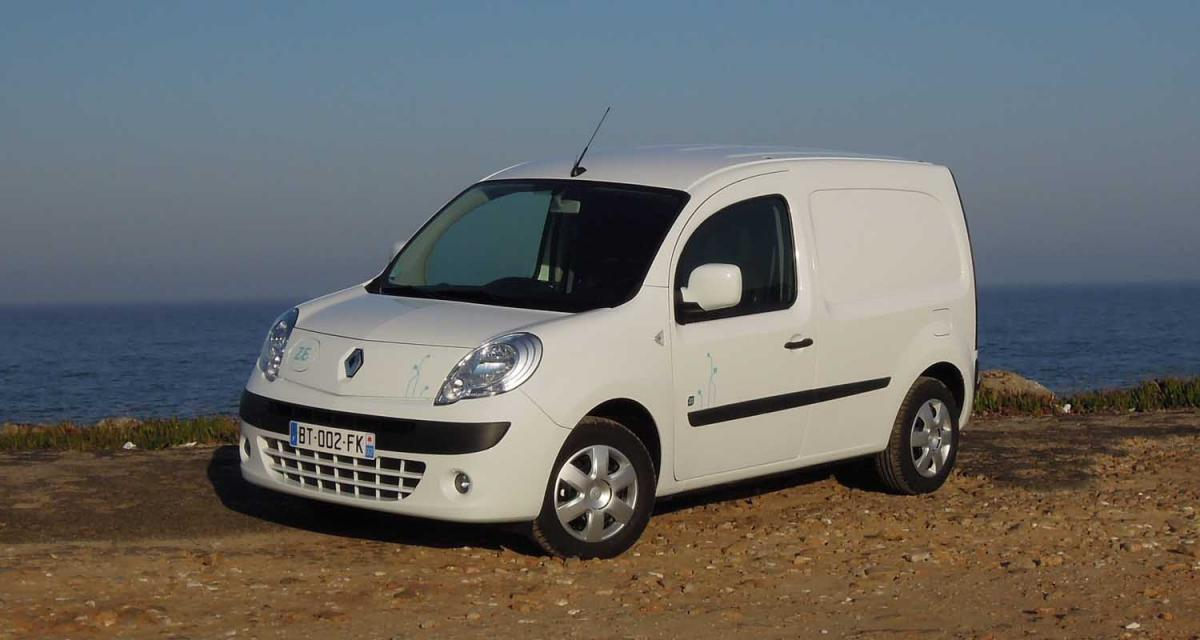 le renault kangoo z e v hicule lectrique le plus vendu. Black Bedroom Furniture Sets. Home Design Ideas