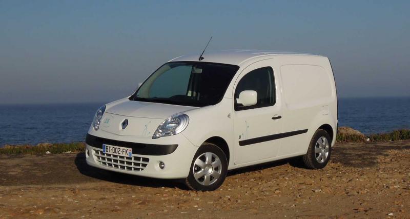 Le Renault Kangoo Z.E., véhicule électrique le plus vendu