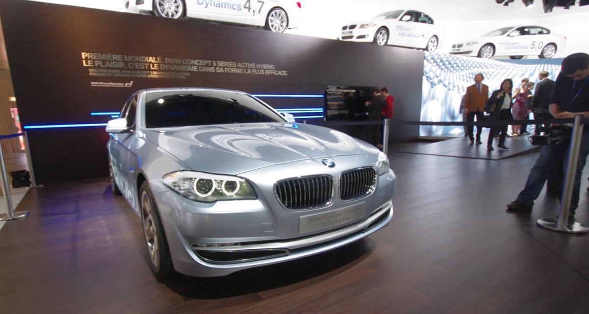 Salon de Genève en direct : BMW ActiveHybrid5