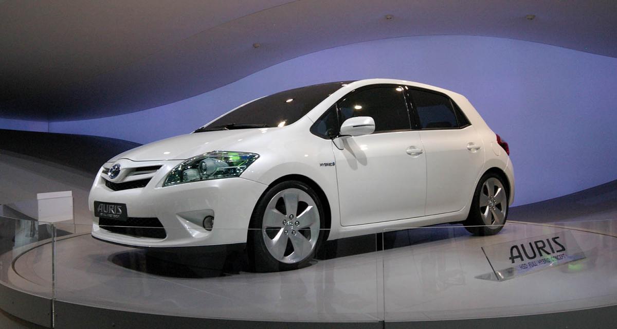 En direct de Francfort : Toyota Auris Full Hybrid