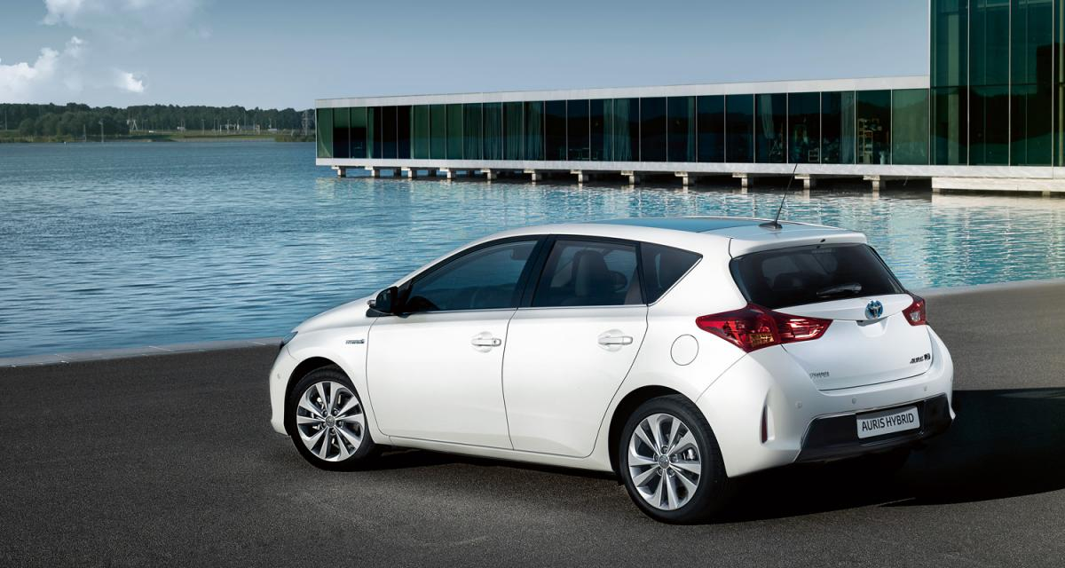 La Toyota Auris Hybride descend à 84 g/km de CO2
