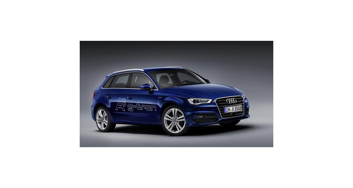 Salon de Genève : Audi A3 Sportback g-tron
