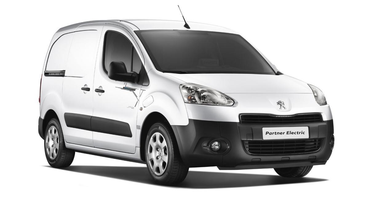 Peugeot Partner Electrique : le Kangoo Z.E. dans le collimateur