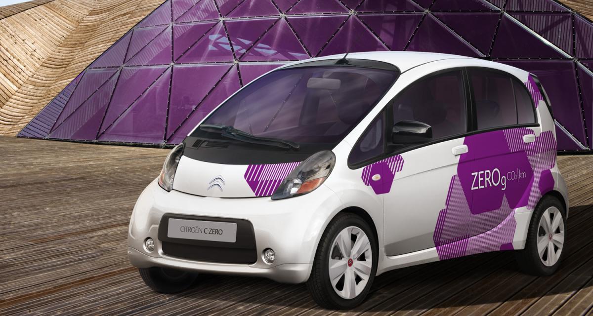 Citroën C-Zéro : le tour du monde en 240 jours