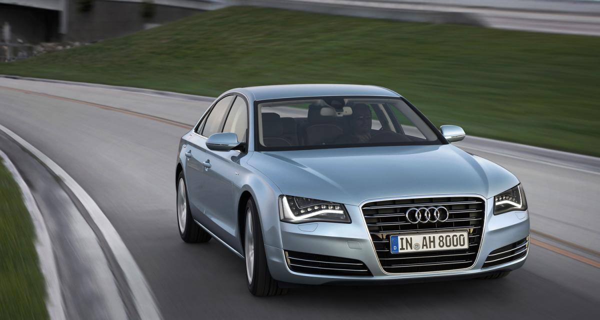 Audi A8 Hybrid : 148 grammes de CO2/km