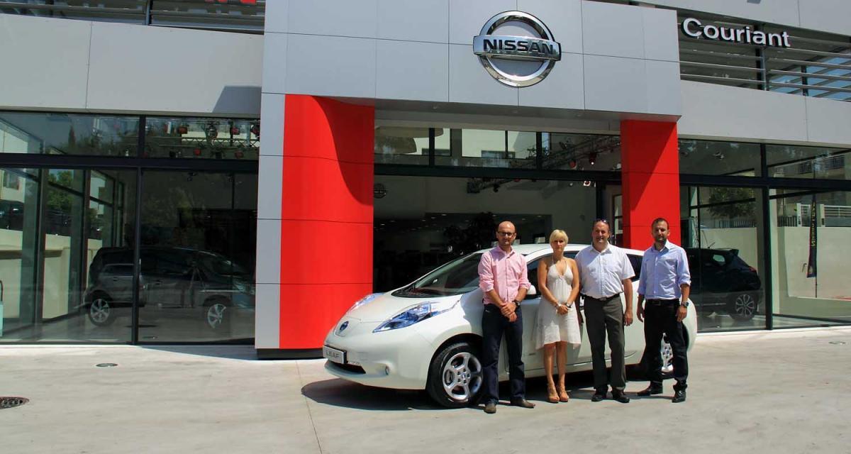 Nissan Leaf : première livraison en France