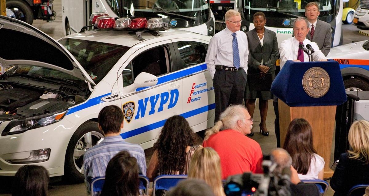 Des Chevrolet Volt pour le NYPD