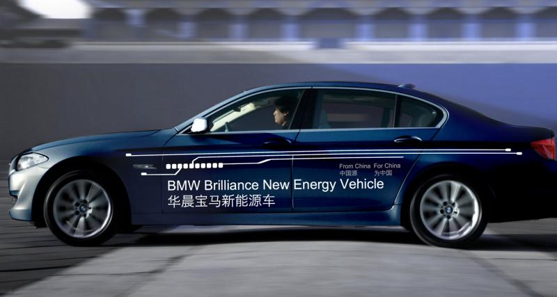 Shanghai 2011 : BMW-Brilliance Série 5 Plug-in Hybrid