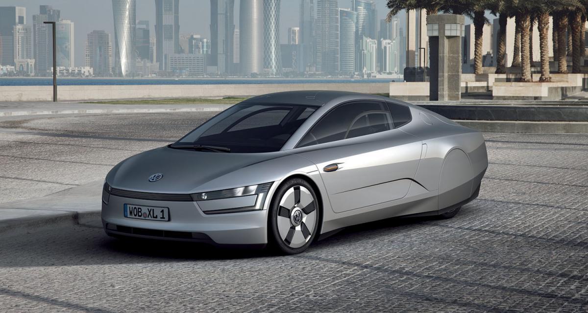 Volkswagen XL1 Concept : chameau allemand