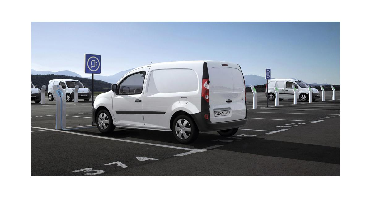 Renault Kangoo Z.E. : à partir de 15 000 euros HT sans batteries