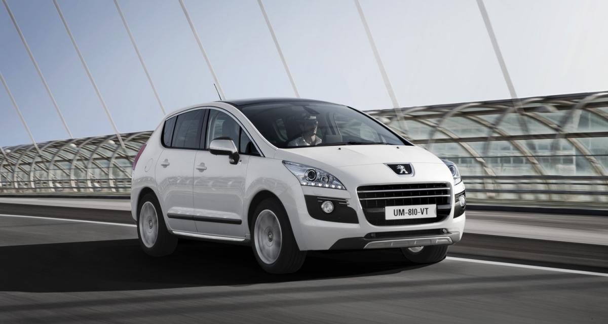 Mondial de l'Automobile 2010 : Peugeot 3008 HYbrid4
