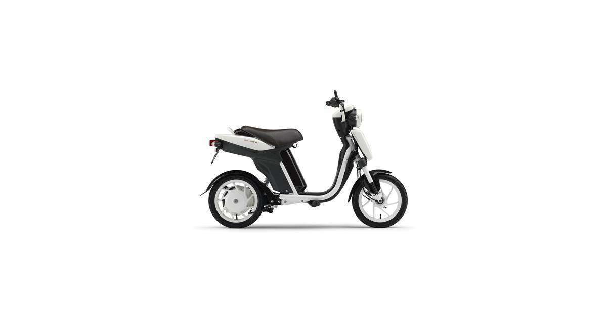 Yamaha EC-03, le cyclomoteur aussi est électrique
