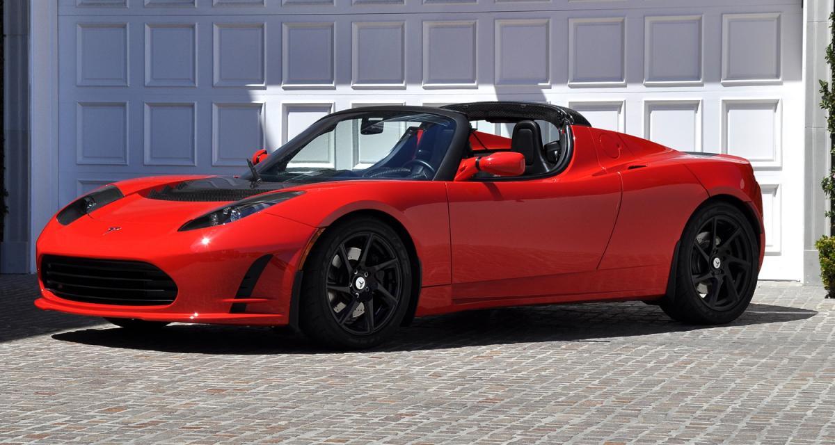 Tesla Roadster 2.5 : rafraîchissement d'été