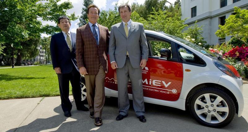 La Mitsubishi i-MiEV débarque en Californie